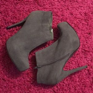 Shoes - Grey ankle boots